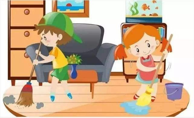 参加家务劳动,培育责任感